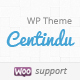 Centindu Portfolio & Shop WordPress Theme Nulled