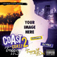 Coast 2 Coast Mixtape or Flyer Template - GraphicRiver Item for Sale