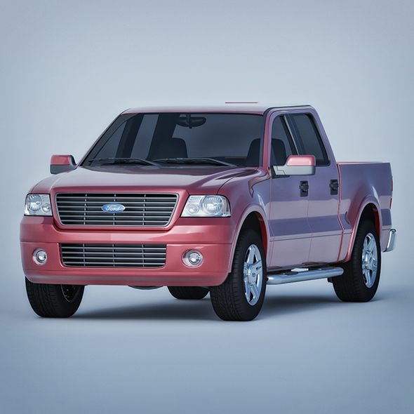 Vray Ready Ford F150 SUV Car - 3DOcean Item for Sale