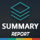 Summary Report Template - GraphicRiver Item for Sale