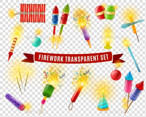 Firework Sparlers Firecrackers Transparent - Miscellaneous Seasons/Holidays
