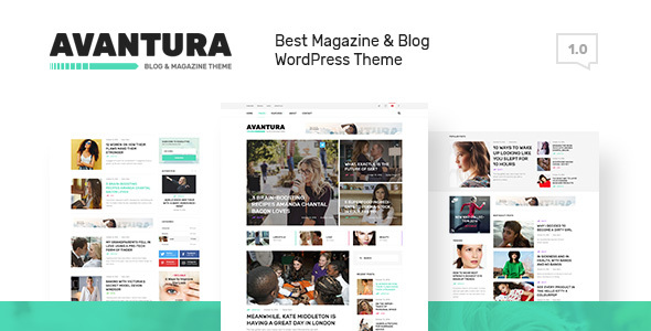 Avantura – Magazine & Blog WordPress Theme