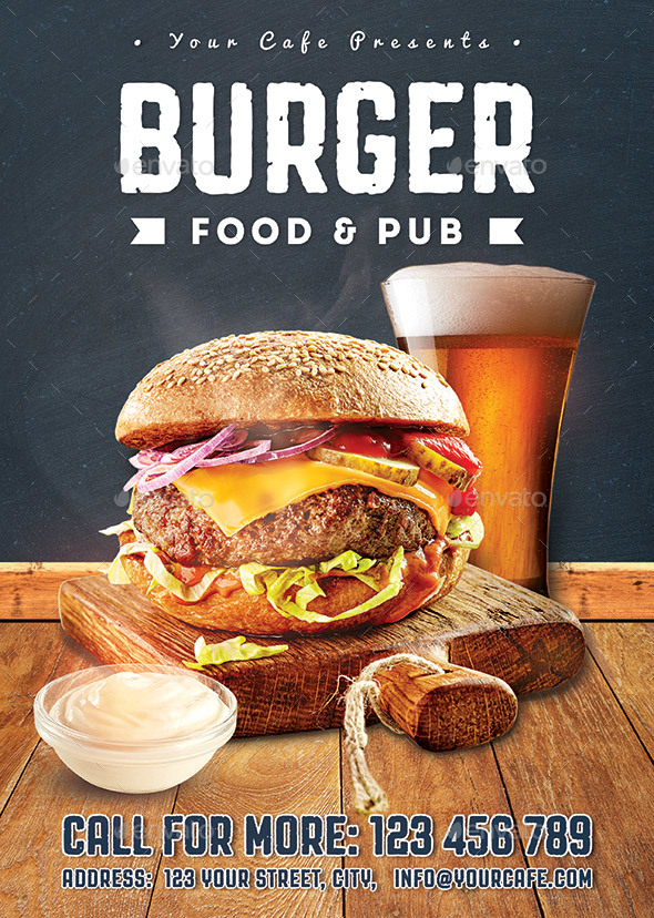 Burger Food Flyer