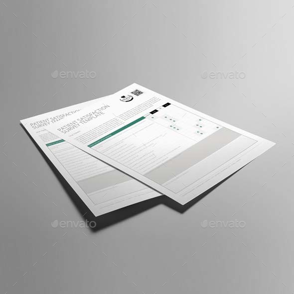 Patient Satisfaction Survey Template Us Letter By Keboto