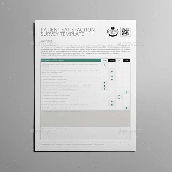 Patient Satisfaction Survey Template Employee Survey Templates – Customer Survey Template