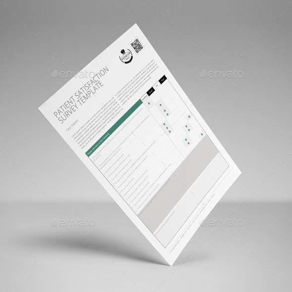 Patient Satisfaction Survey Template Us Letter By Keboto