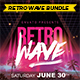 Retro Wave Bundle - GraphicRiver Item for Sale