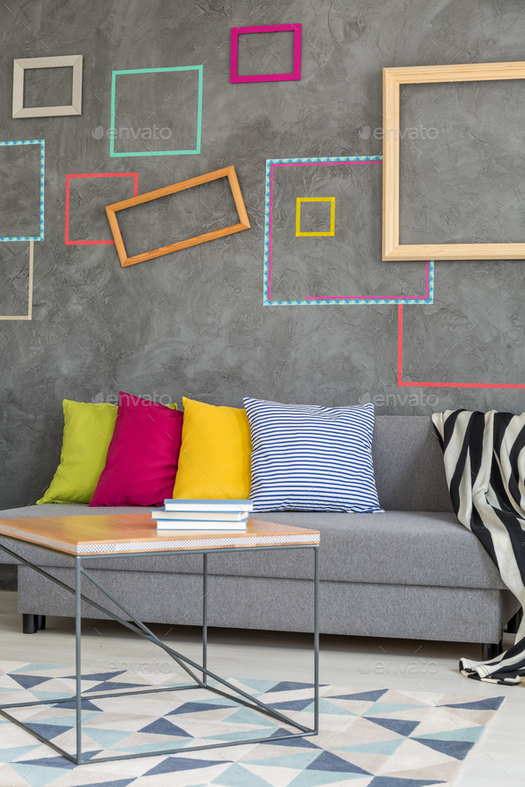 Frames on the wall - Stock Photo - Images