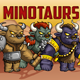 Minotaurs 2D Game Character Sprite Sheet - GraphicRiver Item for Sale