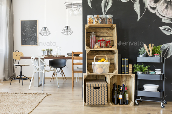Home with dining area - Stock Photo - Images
