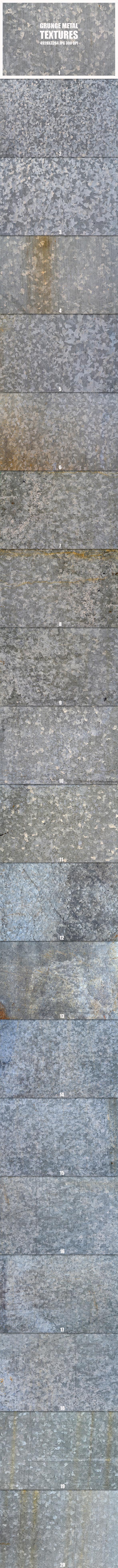 Grunge Metal Textures 2 - Metal Textures
