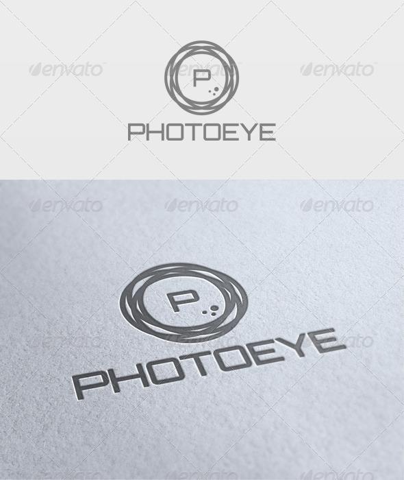 PhotoEye Logo - Letters Logo Templates