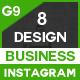 Instagram - 8 Design - GraphicRiver Item for Sale