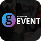 G-Event - Responsive Meetup Event & Conference Template Nulled