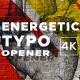 Energetic Typographic Opener - VideoHive Item for Sale