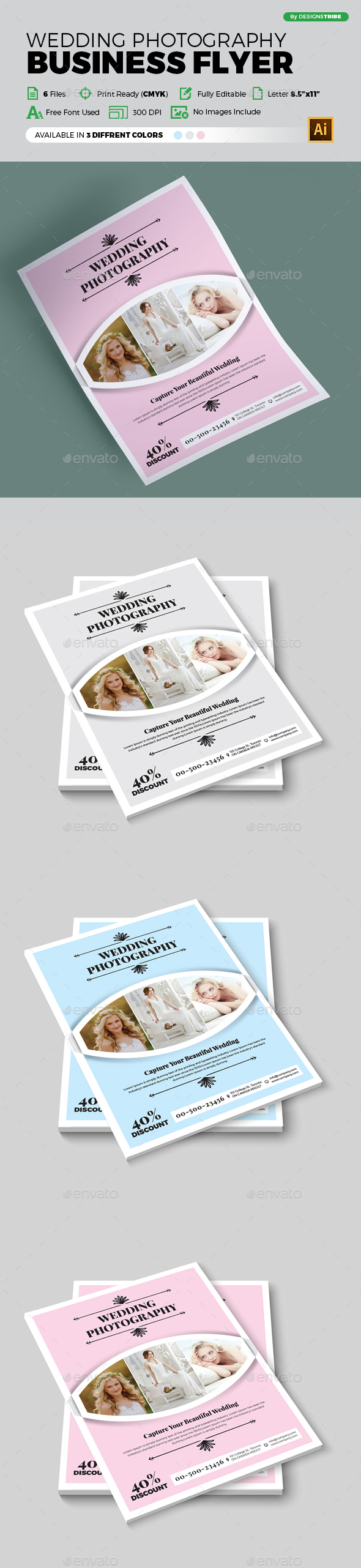 Flyer – Multipurpose 315 - Flyers Print Templates