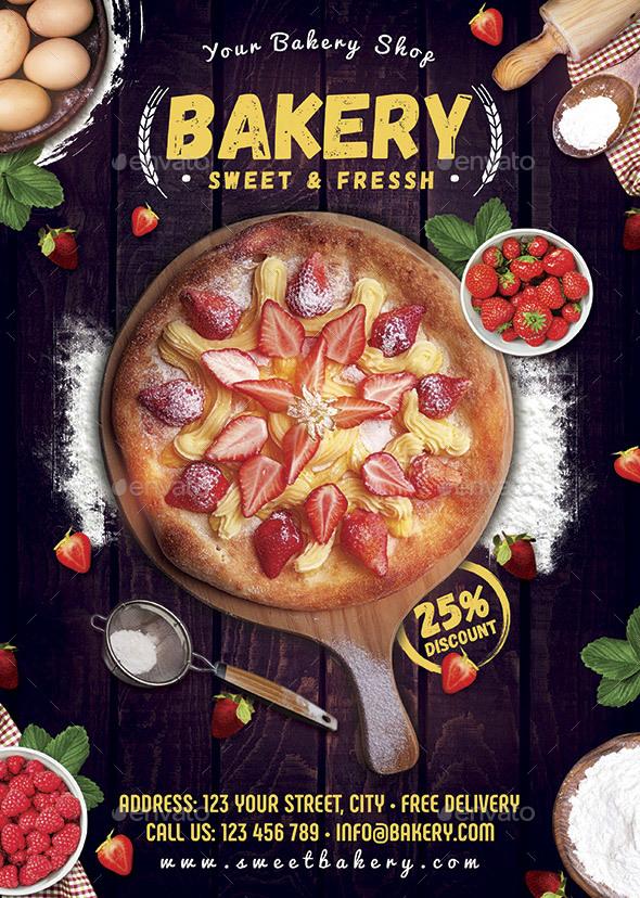 Bakery Flyer - Restaurant Flyers