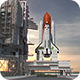 Space Shuttle Launch - VideoHive Item for Sale