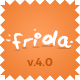 Frida - A Sweet & Classic Blog Theme Nulled