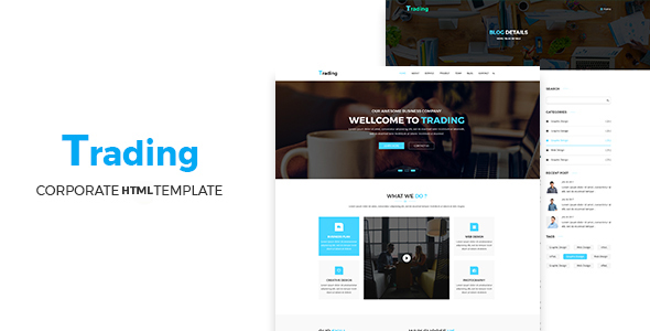 Trading – Multipurpose HTML5 Corporate Template