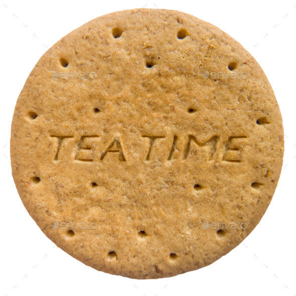 Isolated Biscuit Or Cookie - Stock Photo - Images