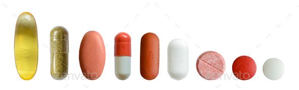 Isolated Medicine Set - Stock Photo - Images