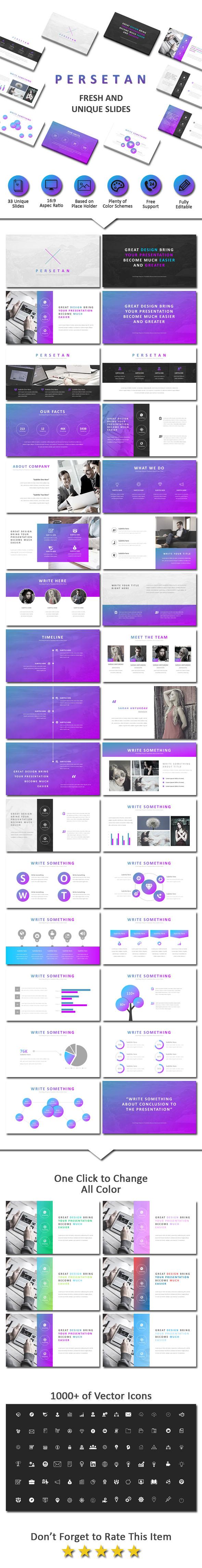 Persetan Creative Powerpoint - Business PowerPoint Templates