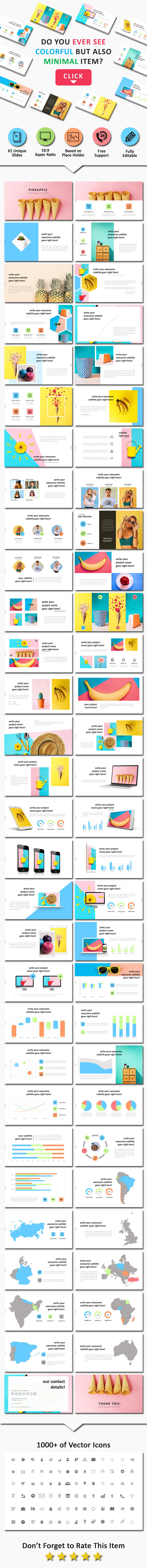 Pineapel Creative Powerpoint - Business PowerPoint Templates