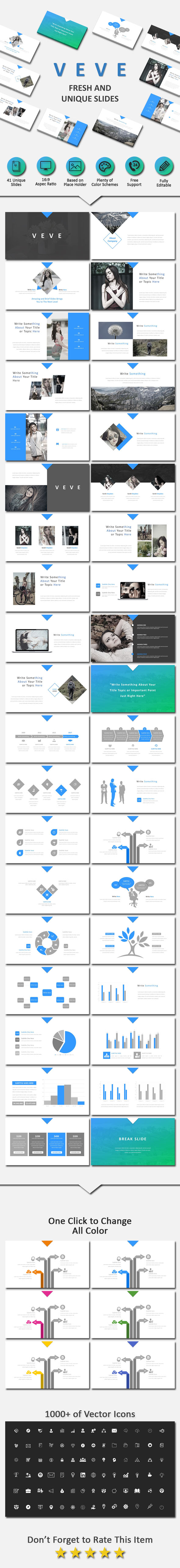 Veve Creative Powerpoint - Business PowerPoint Templates
