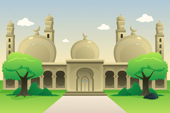 Islamic Mosque During Daytime - People Characters