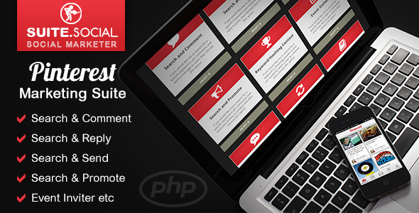Pinterest Marketing Suite - Automation Tools for Business - CodeCanyon Item for Sale
