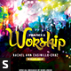 Praises and Worship & Art of Praises Church Flyer - GraphicRiver Item for Sale