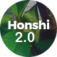 Honshi - One Page Multi Purpose Joomla! Template