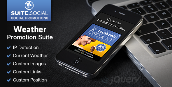 Weather Promotion Suite - For Business, Brands & Bloggers - CodeCanyon Item for Sale