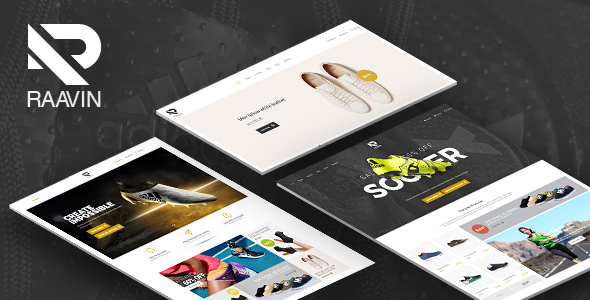 Raavin - Responsive WooCommerce WordPress Sport Shoes Theme - WooCommerce eCommerce