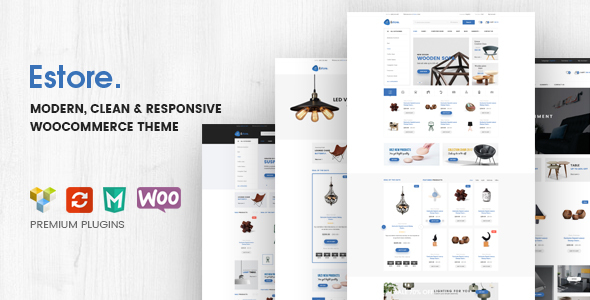Estore - Modern Clean WooCommerce WordPress Theme - WooCommerce eCommerce
