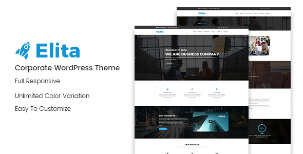 Image of Elita – Corporate WordPress Theme
