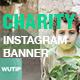 10 Instagram Post Banner - Charity