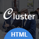 Cluster – Corporate HTML Template - ThemeForest Item for Sale