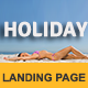 HOLIDAY - Multipurpose Responsive HTML Landing Page Nulled