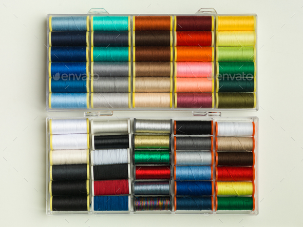 colour thread - Stock Photo - Images