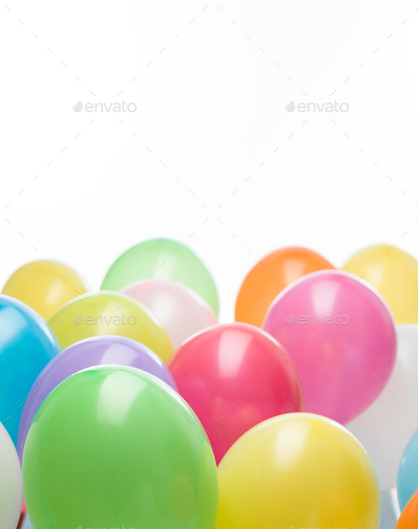 colourful balloons - Stock Photo - Images