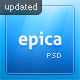 Epica - PSD - ThemeForest Item for Sale