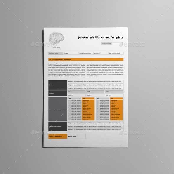 Job analysis worksheet template by keboto graphicriver job analysis worksheet template kfea 1g job analysis worksheet template kfea 2g job analysis worksheet template kfea 3g pronofoot35fo Gallery