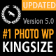 KingSize Fullscreen Photography Theme Nulled