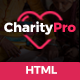 Charity Pro - Responsive HTML Template for Charity & Fund Raising - ThemeForest Item for Sale