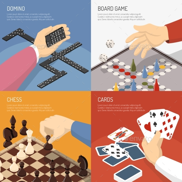 Board Games Design Concept - Sports/Activity Conceptual