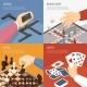 Download Vector Board Games Design Concept