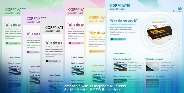 Free Download CORPORATE EMAIL TEMPLATE Nulled Latest Version