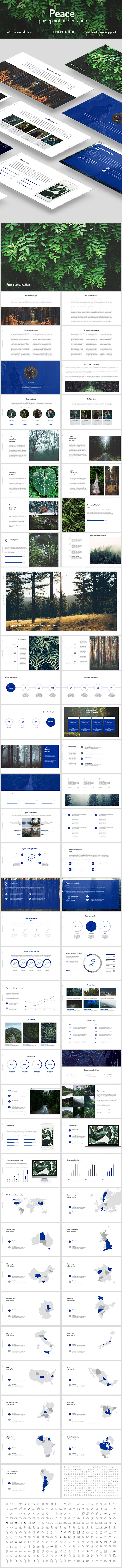 Peace PowerPoint - PowerPoint Templates Presentation Templates